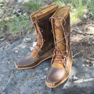 "Men's 12"" Boot With Canoe Sole"