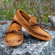 Men's Suede Canoe Sole