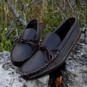 Men's Dark Brown Canoe Sole